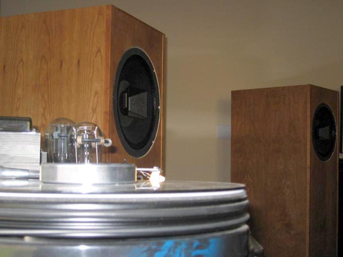 6moons audio reviews: Stephæn's Altec 604 Dream Speaker