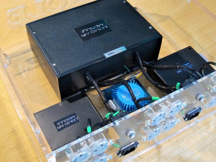 Audio Magic Oracle and Liquid Magic Power Cables