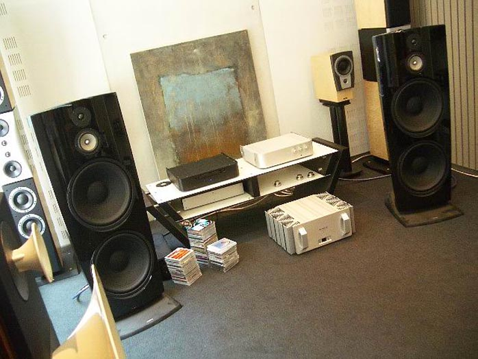Classic jamo r909 4 way dipole speakers - photo1201099