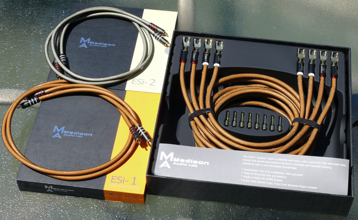 6moons audio reviews: Madison Audio Lab cables