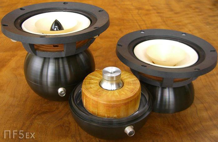 Alto e para o baile! - colunas de som com cones em madeira Feastrex3