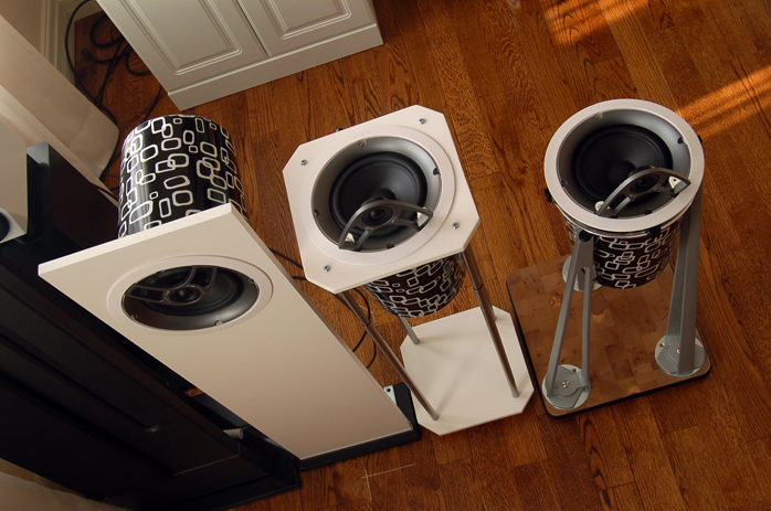 6moons audio reviews: Polking fun at DIY speakers