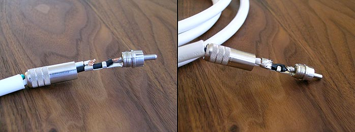 6moons audio reviews: DIY Cables - The White Lightning Moonshine