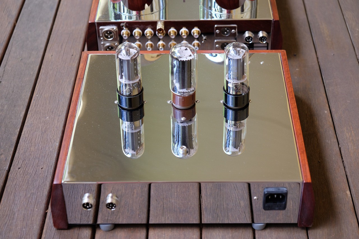 The Phono Stage Is A Bit Different Than Normal Supratek Stages Just About All Of Them Used 6922 ECC88 E88CC In Combination With