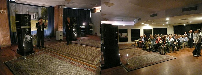 industry features topaudio show milan 2008. Black Bedroom Furniture Sets. Home Design Ideas